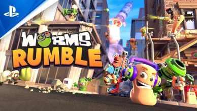 Team17 anuncia Worms Rumble para PS5,PS4 e PC.
