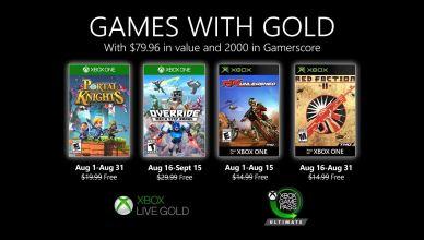 Xbox Games With Gold de agosto de 2020, traz Red Faction 2