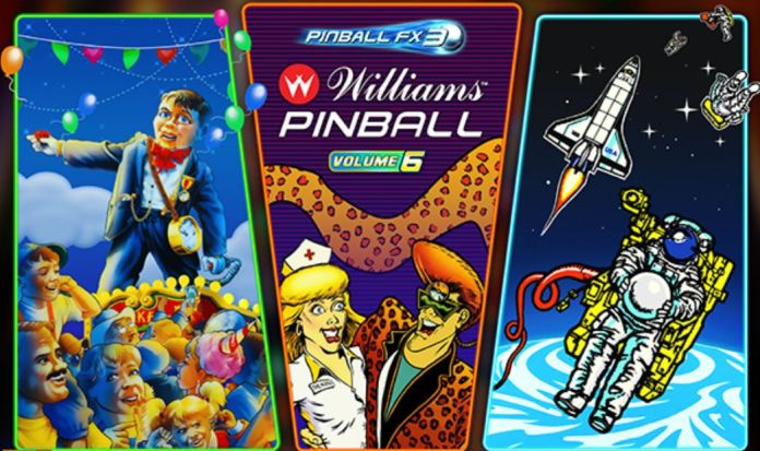 DLC Williams Pinball: Volume 6 é anunciado para Pinball FX3; Confira o trailer