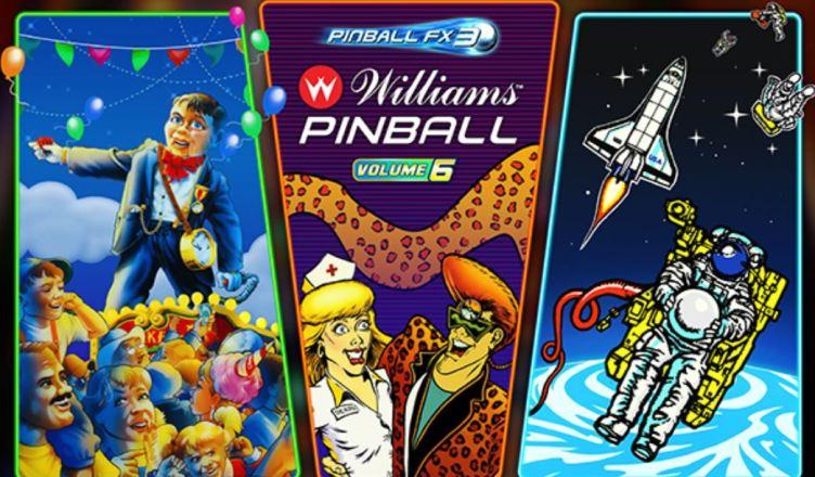 DLC Williams Pinball: Volume 6 é anunciado para Pinball FX3; Confira o trailer