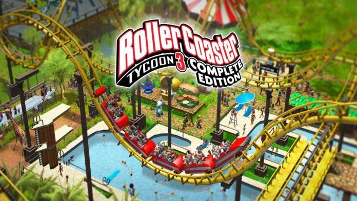 RollerCoaster Tycoon 3: Complete Edition já disponível no Nintendo Switch