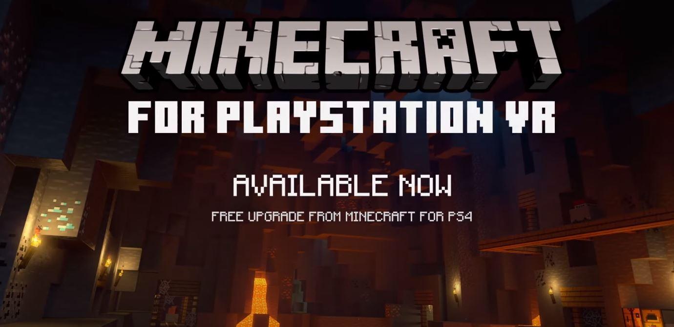 Minecraft ganha trailer de lançamento no PSVR - MeuGamer