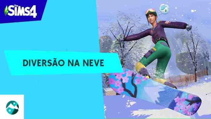 The Sims 4: Diversão na Neve - Deixe nevar - Review - PS4