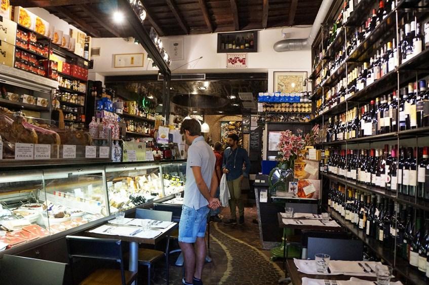 Roma - Itália - Rosciolo Salumeria con Cucina
