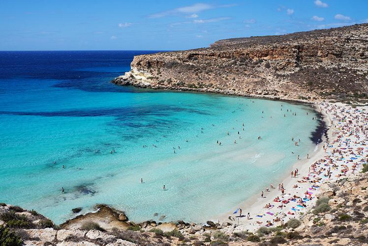 Capa Lampedusa, Sicília - Europa
