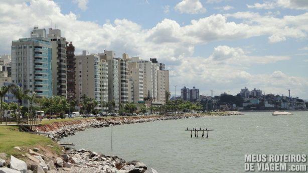 Prédios da Av. Beira-Mar Norte - Floripa