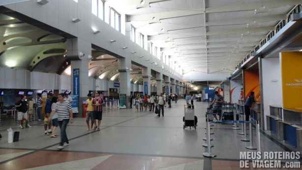 Saguão do Aeroporto de Salvador
