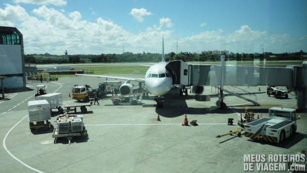Portão de embarque do Aeroporto de Salvador