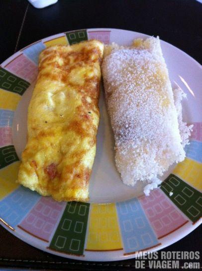 Omelete e Tapioca no Hotel Mercure Salvador Rio Vermelho
