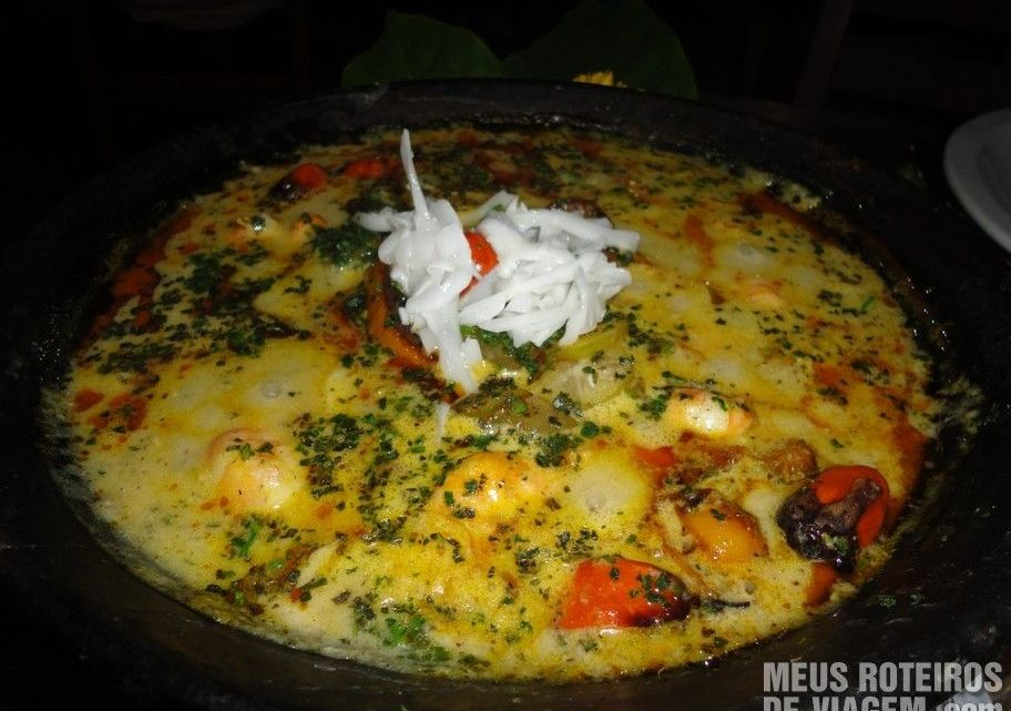 Moqueca no Restaurante Paraíso Tropical - Salvador