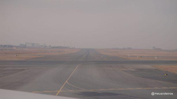 Pista do Aeroporto O. R. Tambo - Joanesburgo