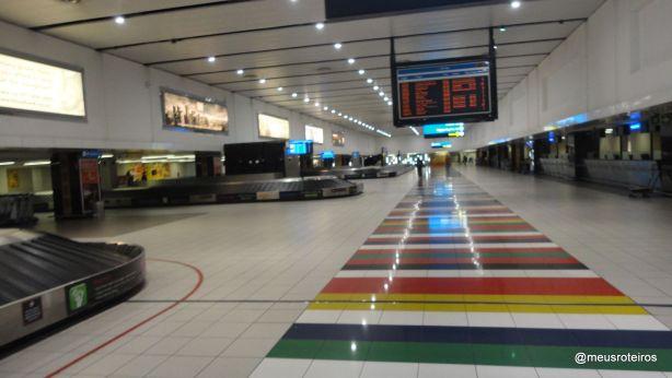 Desembarque do Aeroporto O. R. Tambo - Joanesburgo