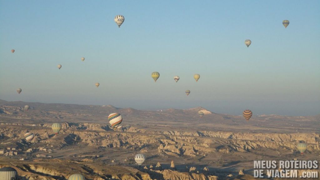 Vôo de Balão na Capadócia - Turquia