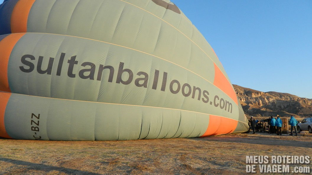 Balão da empresa Sultan Balloons - Capadócia, Turquia