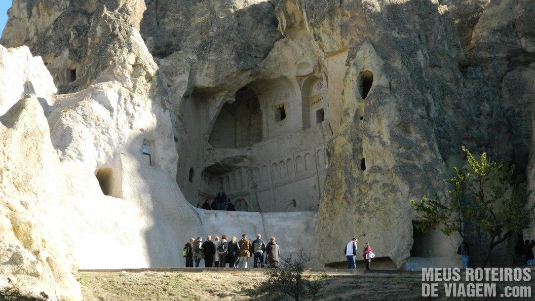 Igreja do Museu à Céu Aberto de Goreme - Capadócia, Turquia