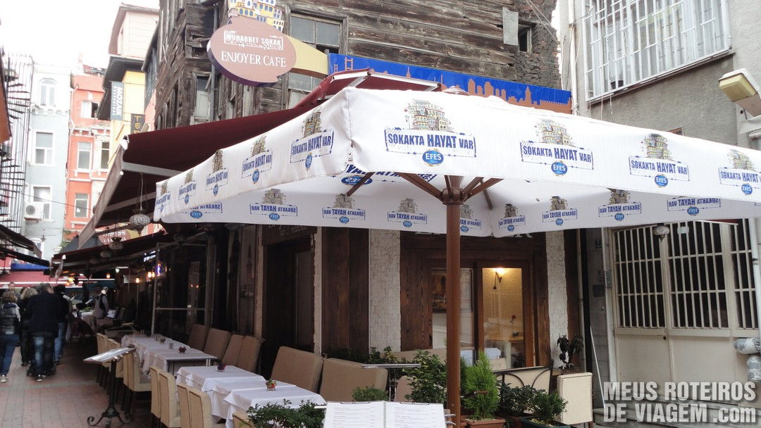Restaurante Enjoyer - Istambul, Turquia
