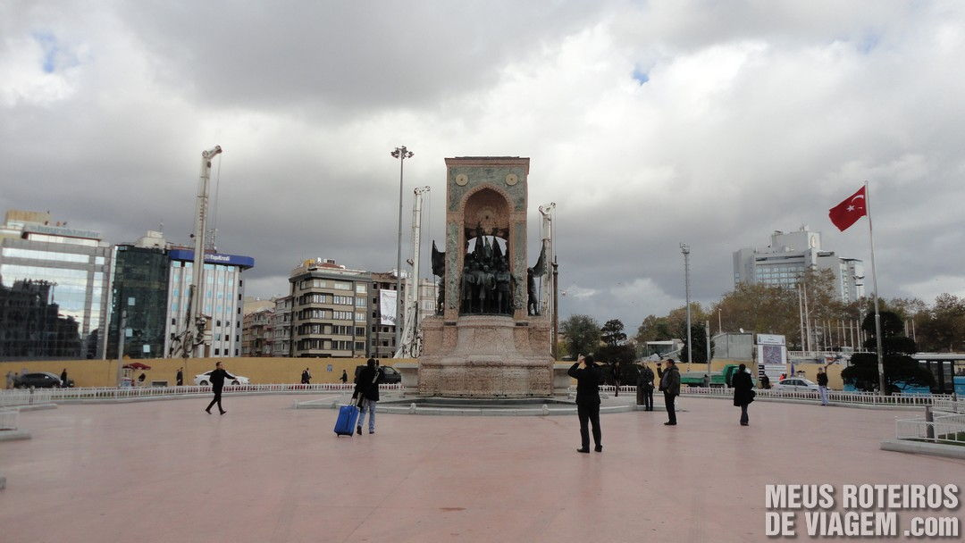 Praça Taksim - Istambul, Turquia