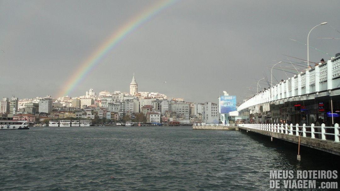 Ponte Gálata - Istambul, Turquia