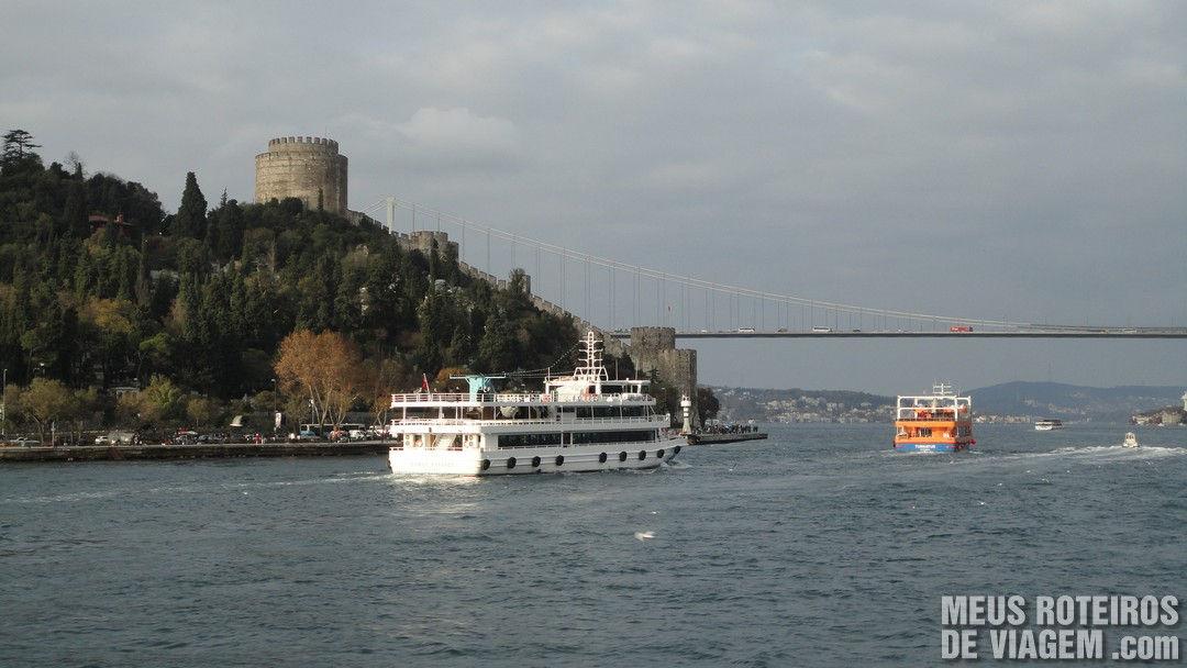 Castelo da Rumélia (Rumelihisarı) - Istambul, Turquia