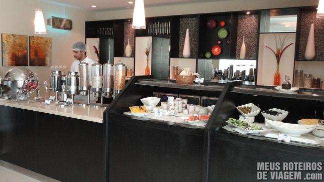 Café da manhã do hotel Holiday Inn Express Dubai Jumeirah