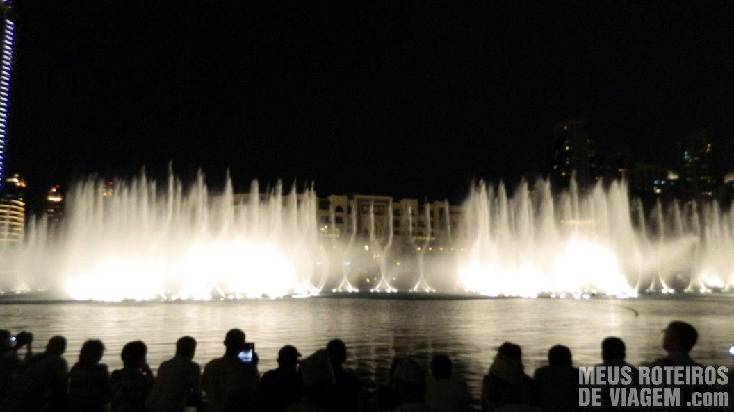 Show das Fontes de Dubai no Dubai Mall