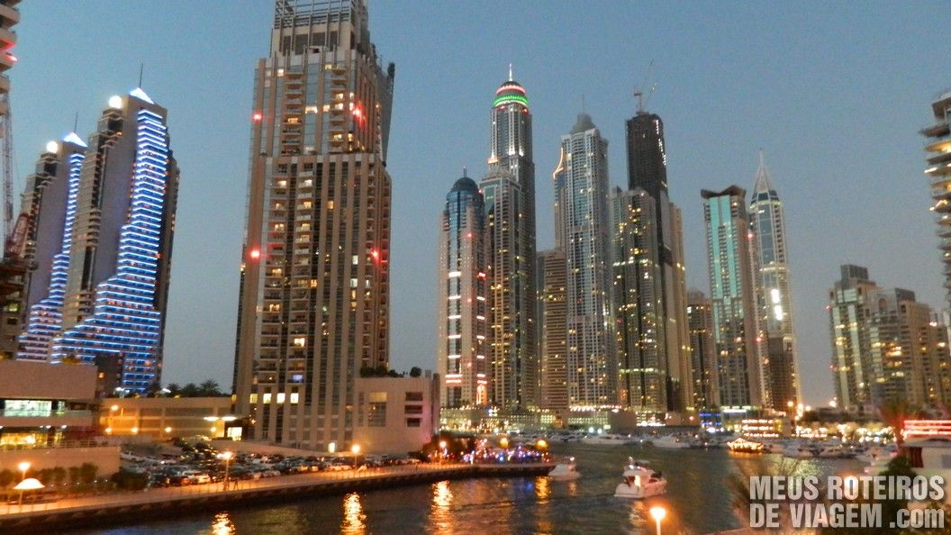 Prédios da Dubai Marina