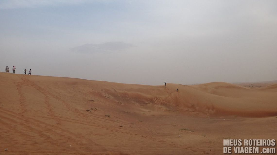 Deserto dos Emirados Árabes