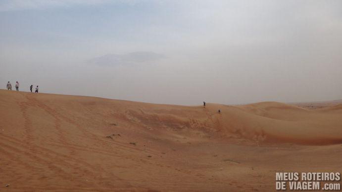 Caminhando nas dunas