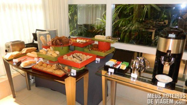 Novo café da manhã do hotel Mercure
