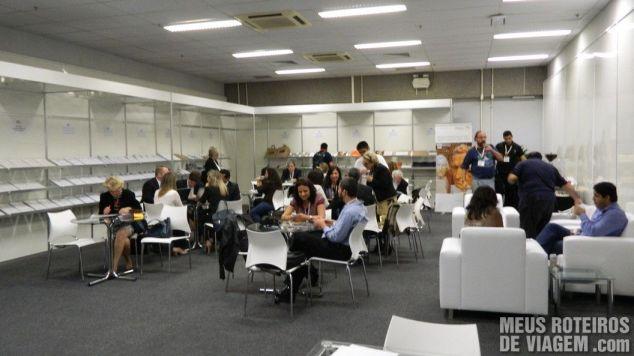 Sala de Imprensa da WTM Latin America 2013