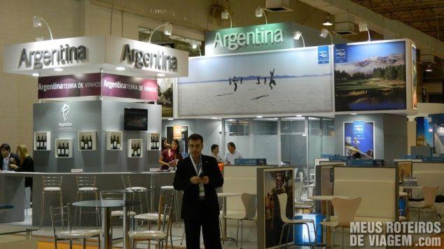 Estande da Argentina na WTM Latin America 2013