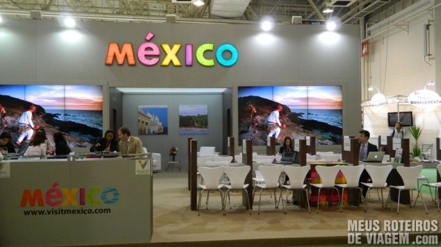 Estande do México na WTM Latin America 2013