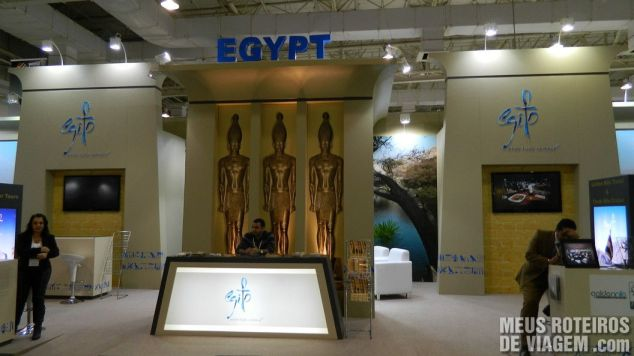 Estande do Egito na WTM Latin America 2013