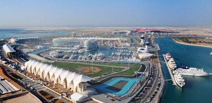 Yas Marina e o circuito de Abu Dhabi