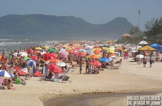Riozinho da Praia do Campeche - Floripa
