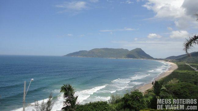 Vista do Mirante do Morro das Pedras - Floripa