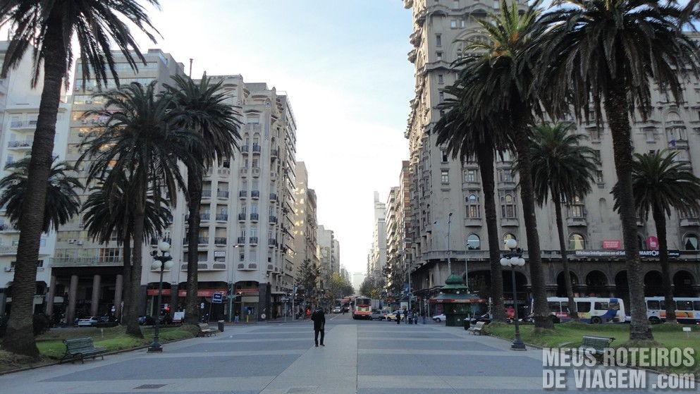 Plaza Independencia - Montevidéu, Uruguai