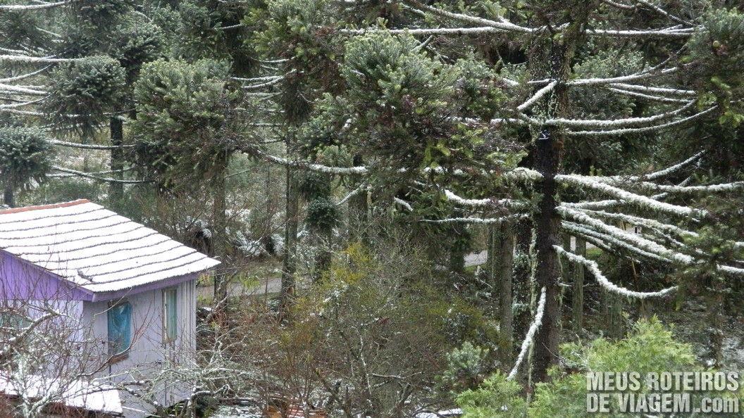 Neve em São Joaquim - Santa Catarina