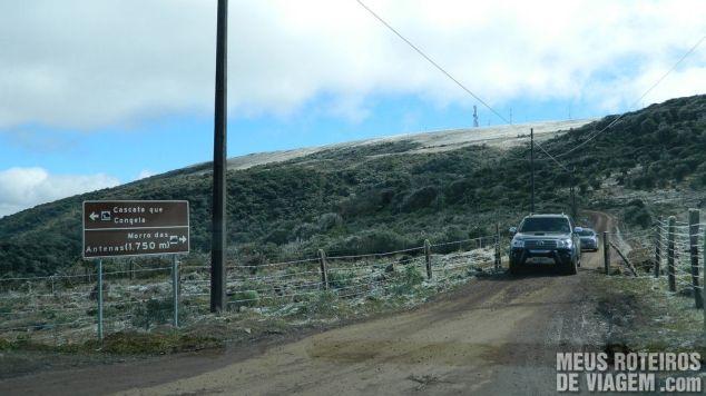 Estrada do Morro das Antenas - Urupema / Santa Catarina