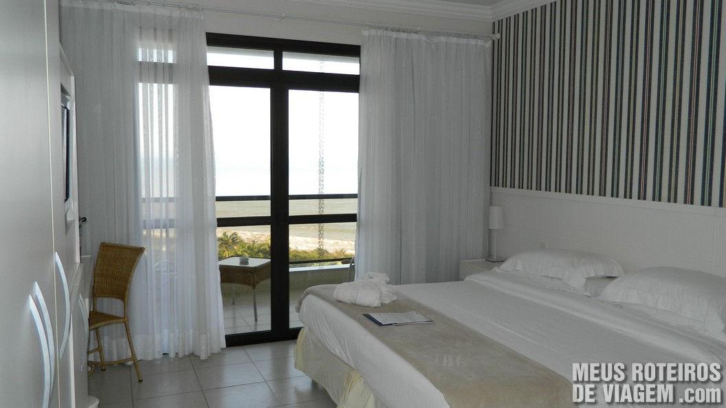 Suíte Luxo do Infinity Blue Resort e SPA - Balneário Camboriú/SC