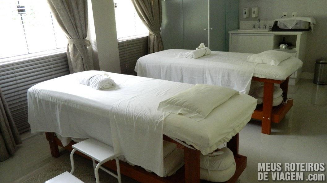 Sala de massagem do Infinity Blue Resort e SPA - Balneário Camboriú