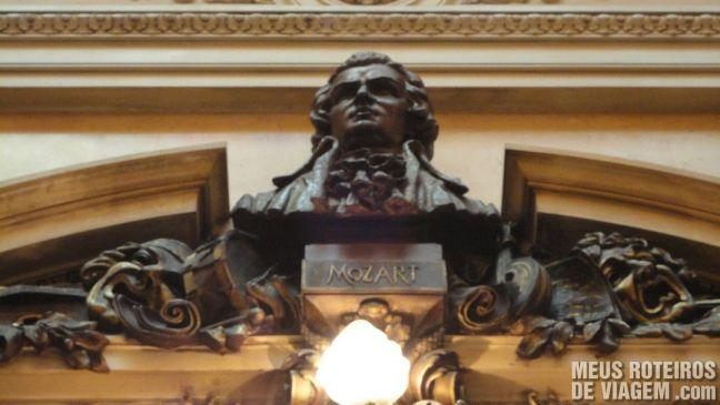 Mozart no Teatro Colón - Buenos Aires, Argentina