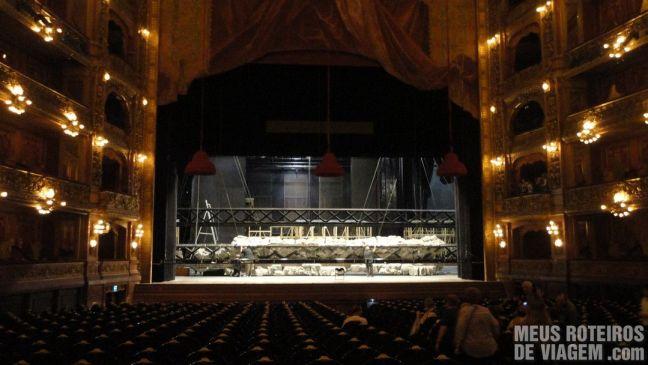 Palco do Teatro Colón - Buenos Aires