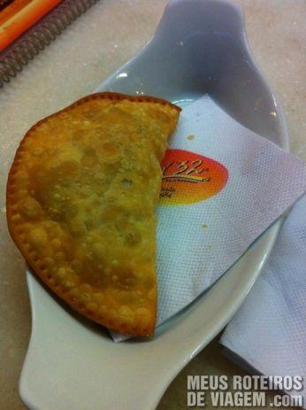 Pastel no Box 32 - Florianópolis