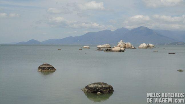 Pedras da Praia do Itaguaçu - Florianóplis