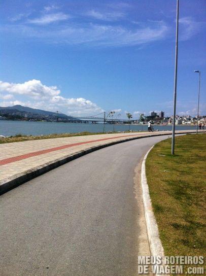 Ciclovia da Av. Beiramar Continental - Florianópolis