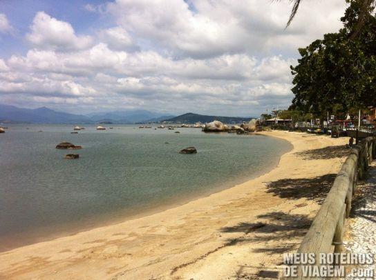 Praia do Itaguaçu - Florianópolis