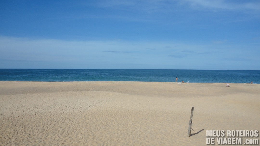 Praia do Estaleirinho - Balneário Camboriú