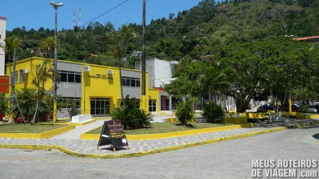 Pracinha da Prefeitura na Praia de Ganchos do Meio - Governador Celso Ramos