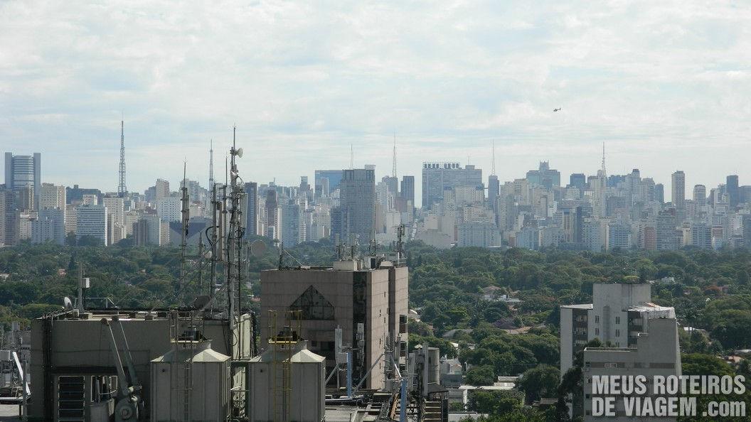 Vista do Radisson Faria Lima - São Paulo